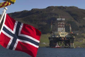 Добыча нефти в Норвегии может упасть до отметки 30-летней давности